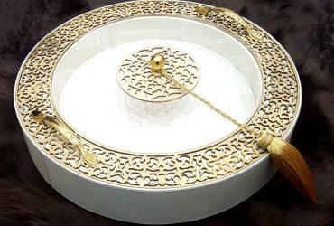 Boite ronde gold