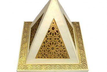 Grand Taifour En Cuir & Oud gold