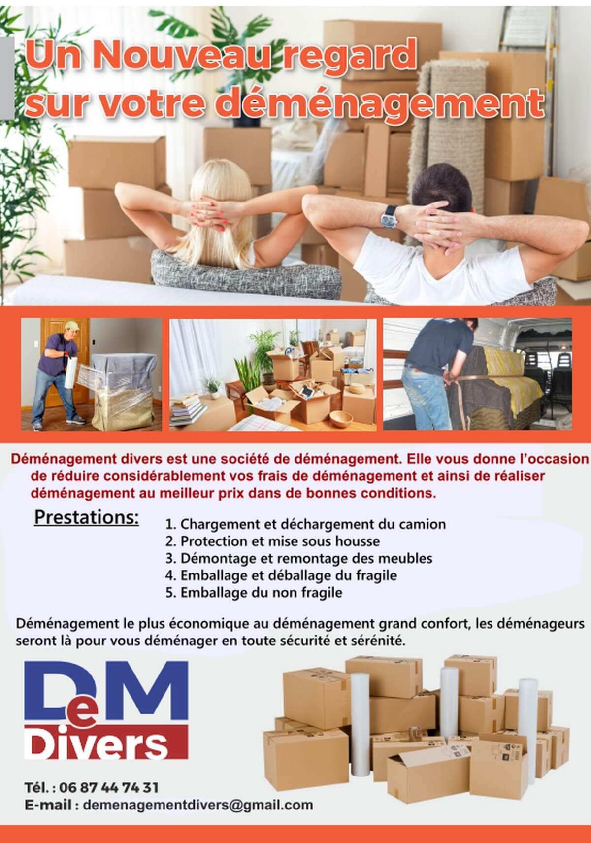 Vous recherchez une entreprise de déménagement ?