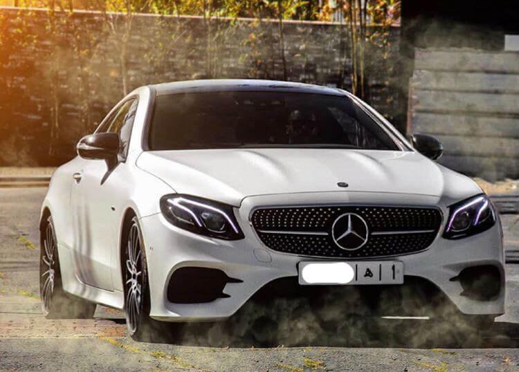 Mercedes à louer