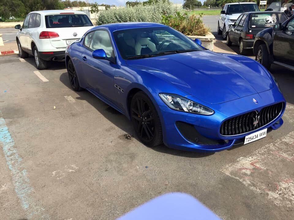 Maserati à louer