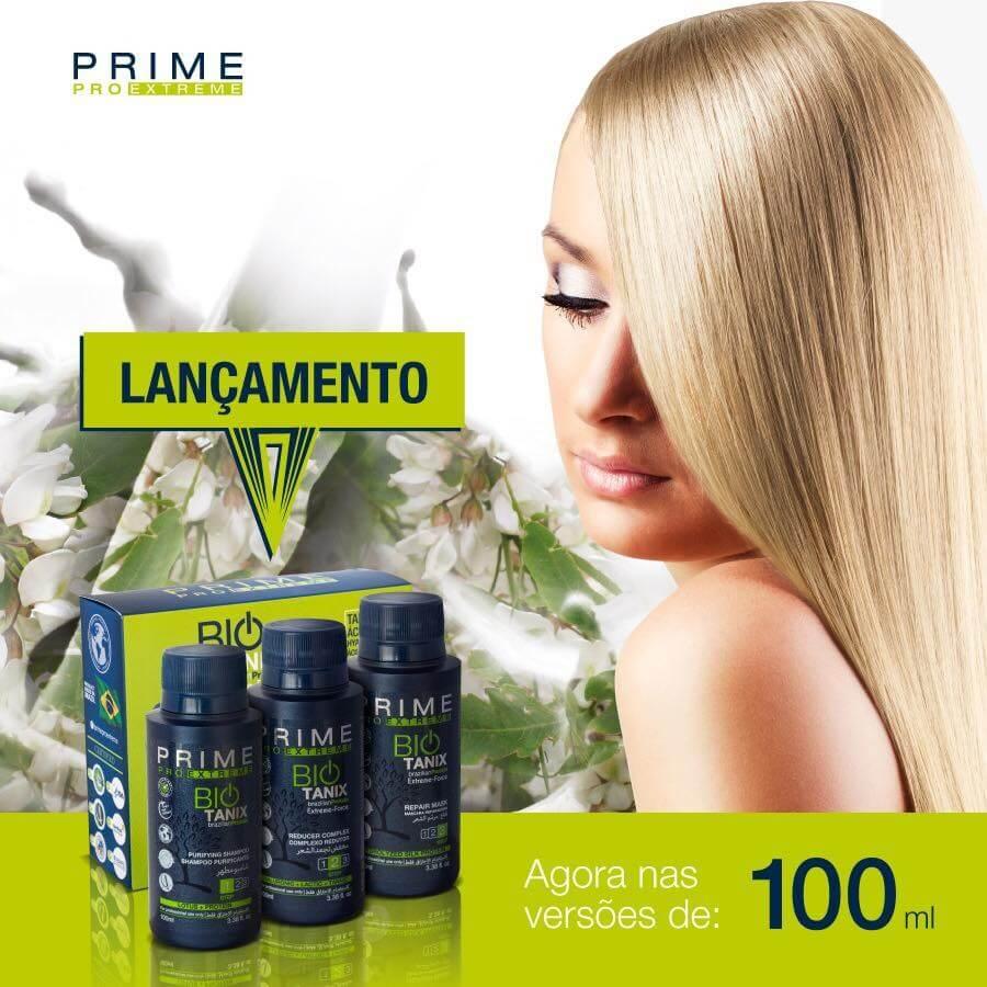 LISSAGE BRESILIEN AU TANIN SANS FORMOL BIO TANIX PRIME PRO EXTREME 3 x 100ml  emballage d'origine