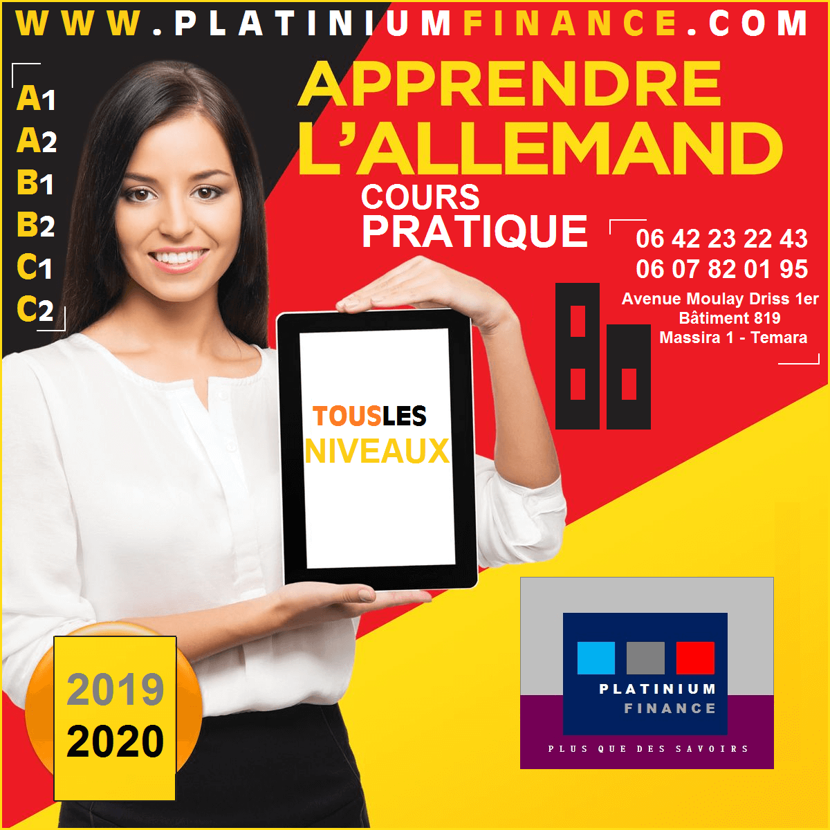 COURS D'ALLEMAND POUR ETUDE -TRAVAIL- -PREPARATION AUX TEST Goethe-Zertifikat