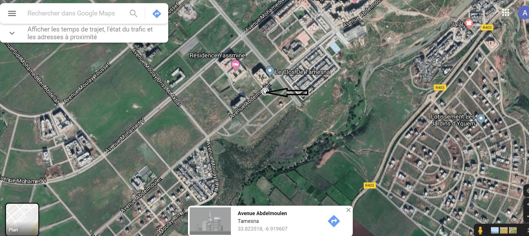 terrain villa