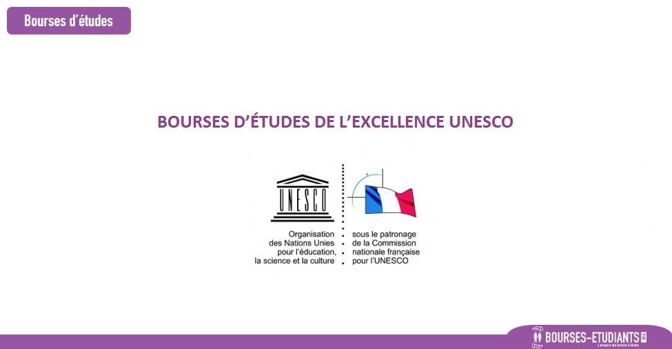 BOURSES D'ÉTUDES D'EXCELLENCES UNESCO