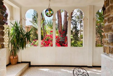 Etage de villa Marrakech gueliz deux chambre avec terrasse privatif calme