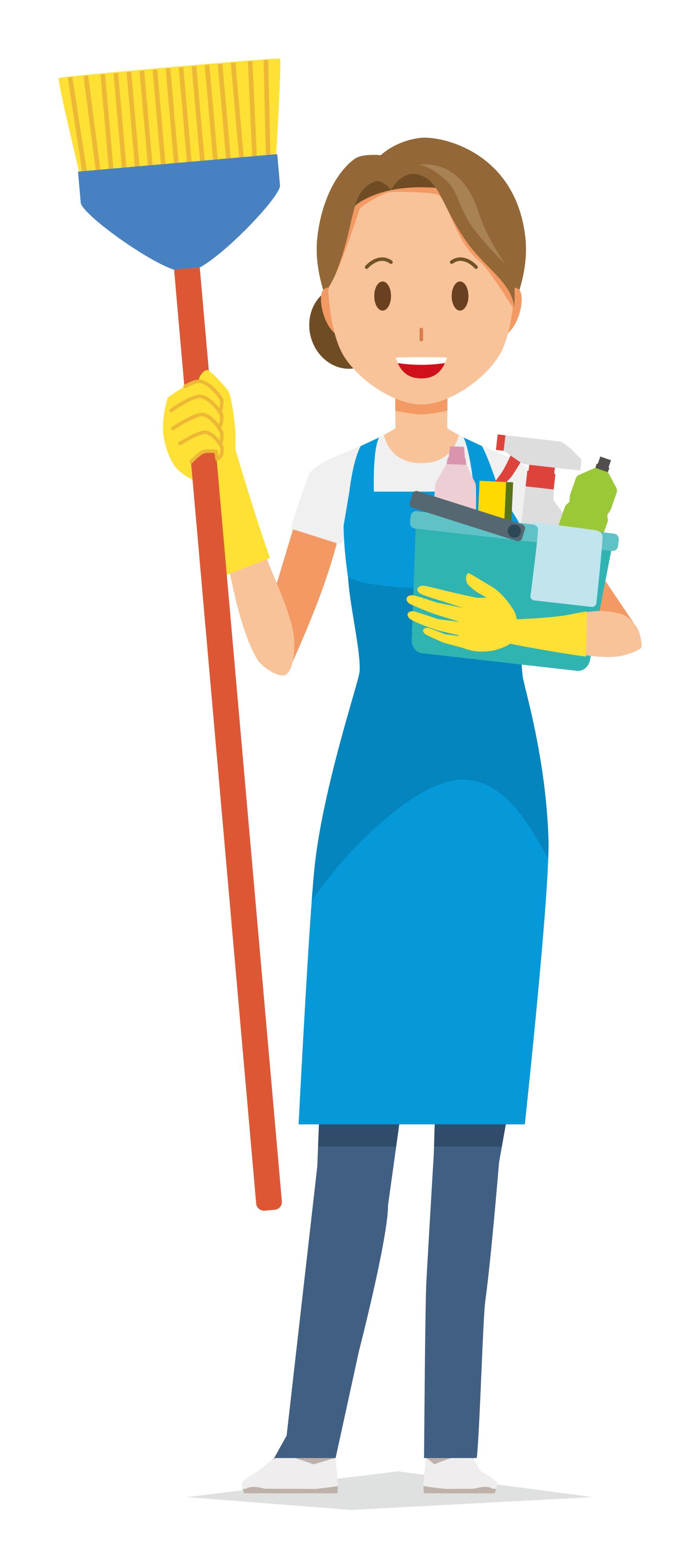 Les femme de ménage qui passe la nuit