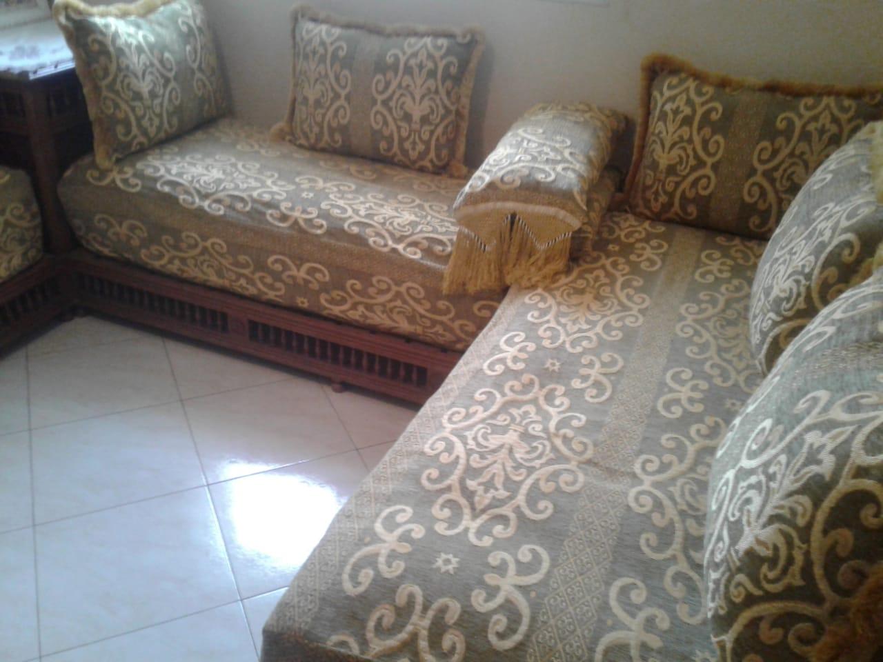 des fauteuils traditionnels marocains
