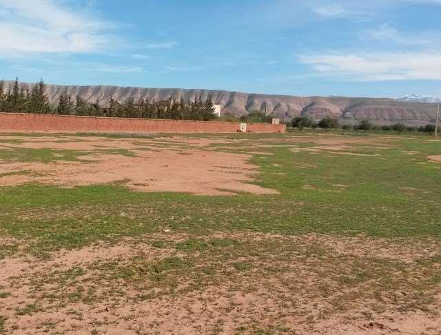 Vente terrain canal Zarraba