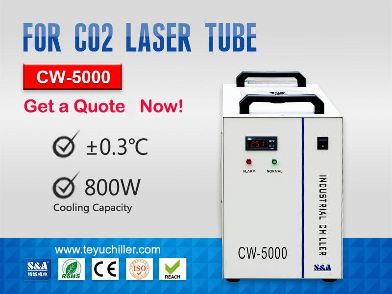 Petite unité de refroidisseur d'eau CW-5000