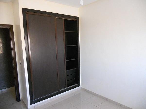 appartement vide de 3 chambres agadir