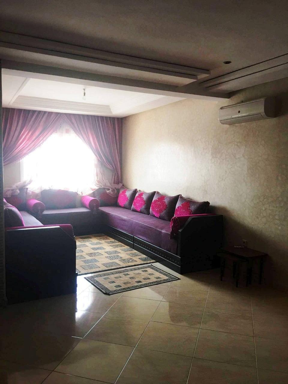 Un appartement meublé à louer situé à Hay Mouhammadi