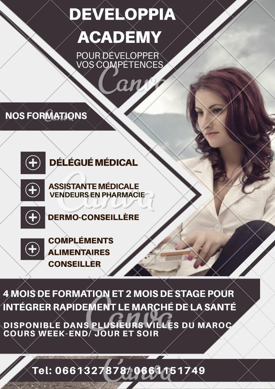 Avec ou sans BAC, devenez délégué médical en 4 mois avec un stage pré embauche.
