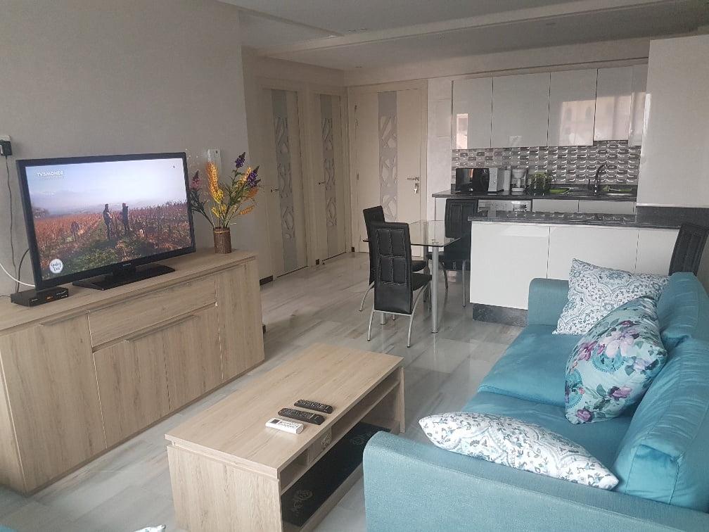 loue appartement à Marrakech 56 m2 calme