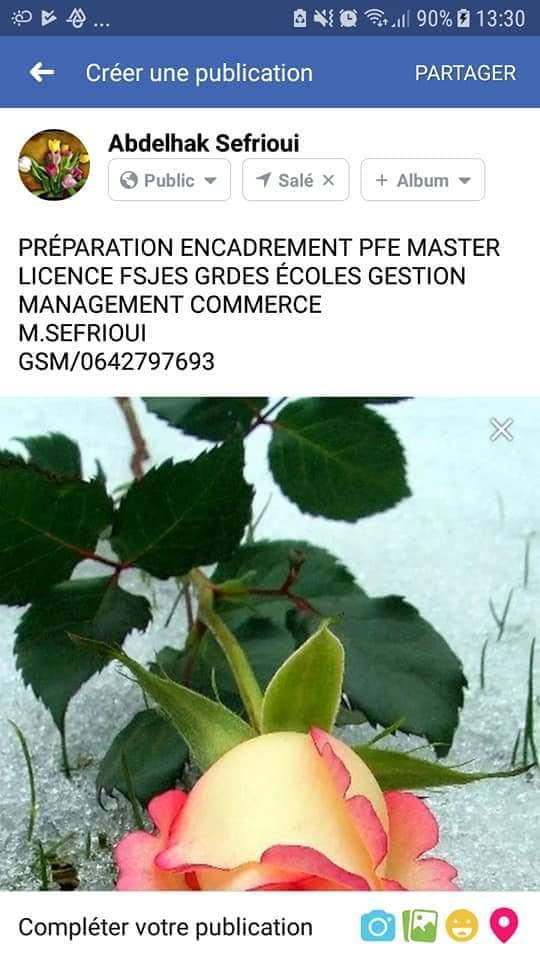 Soutien scolaire/coaching scolaire/Préparation PFE Masters licences etc..