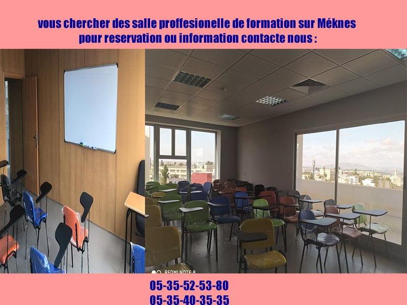 location des salle professionnelle sur meknés
