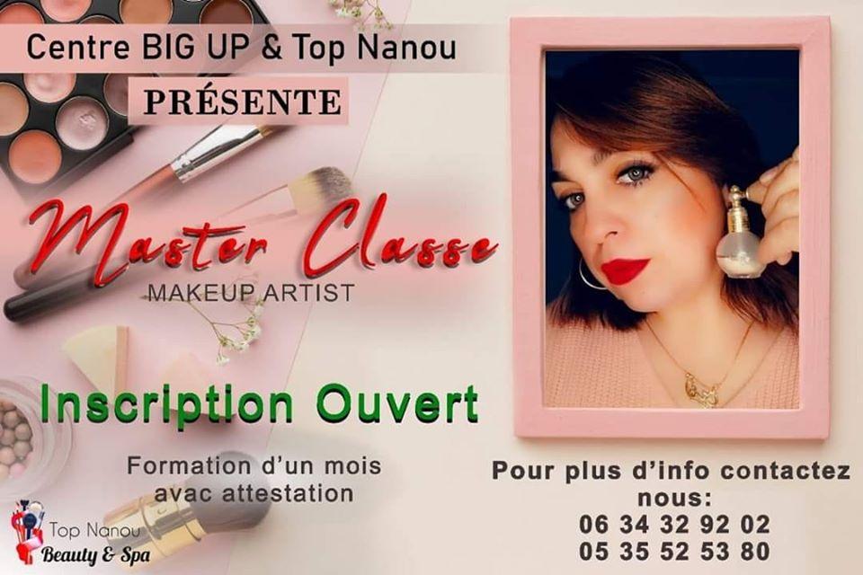 master classe makeup artist