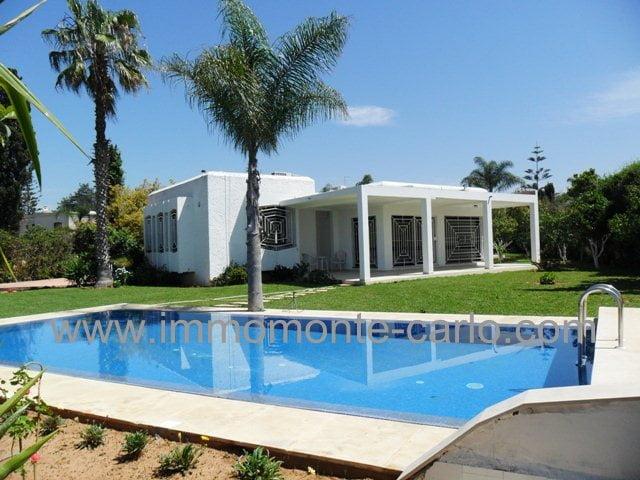villa avec piscine à Souissi