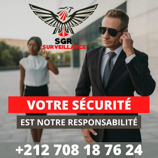 Société de sécurité à Tanger sgr surveillance
