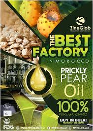 ZineGob: Producteur et Grossite d'huile de figue de barbarie  biologique