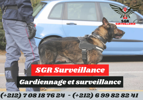 Société de sécurité à Tanger, Maroc SGR Surveillance gardiennage