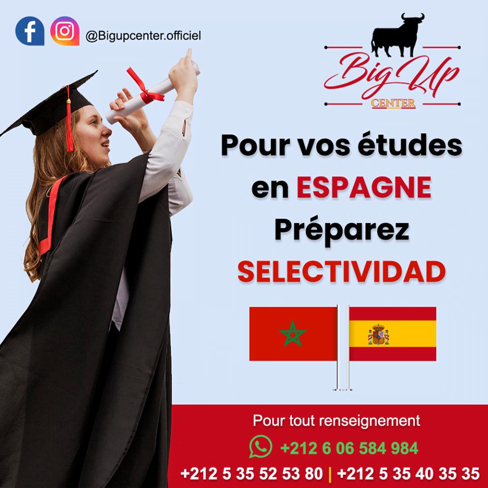 étude supérieures en Espagne choisissez Big-UP