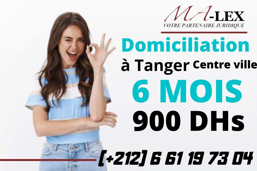 Domiciliation à Tanger centre ville – Malex – Domicliation Rapide à Tanger
