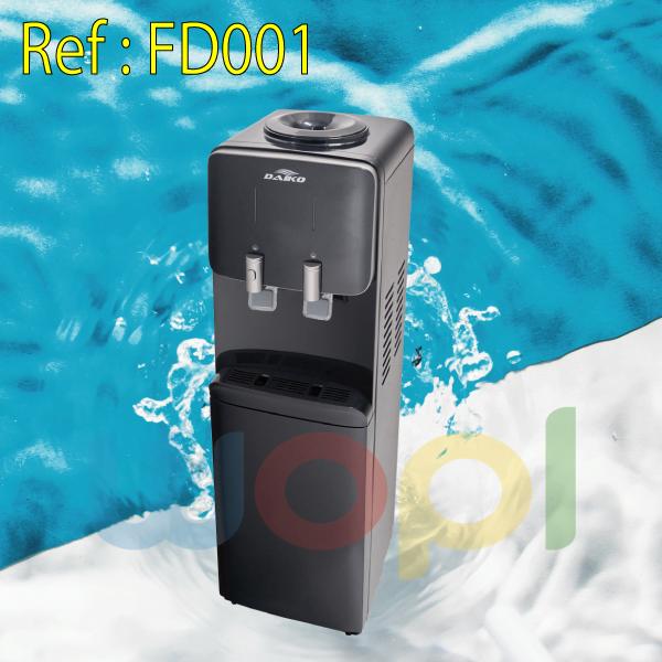 Le distributeur d'eau chaud & froid CHEZ WOPL