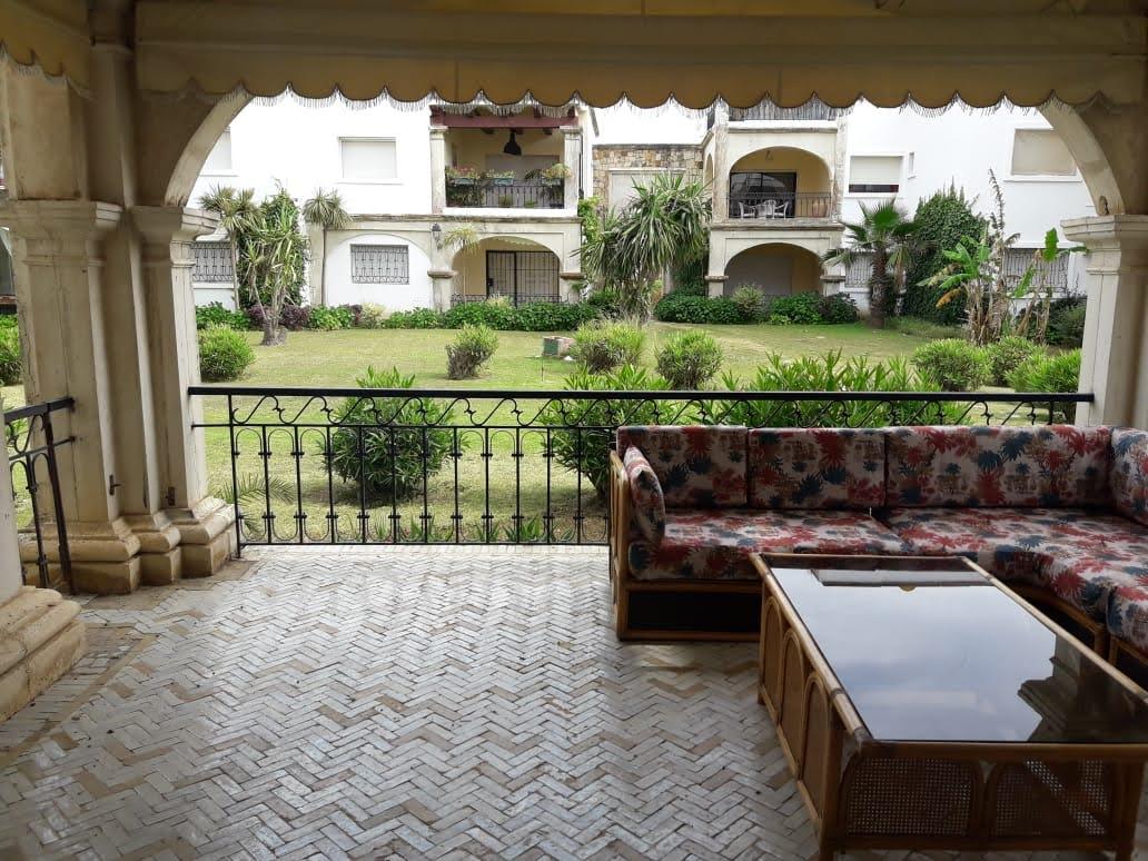 Location appartement meublé à Marina Smir