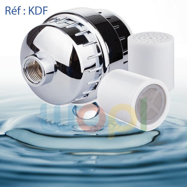 filtre les impuretés avec KDF