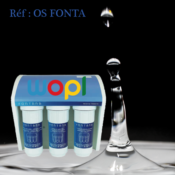 L'eau Pure Avec Osmoseur FONTANA