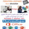 Informatique et bureautique (Word-Excel-power point) à distance
