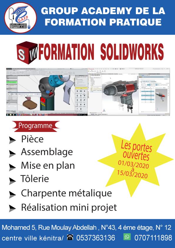 SolidWorks 100% Pratique  .