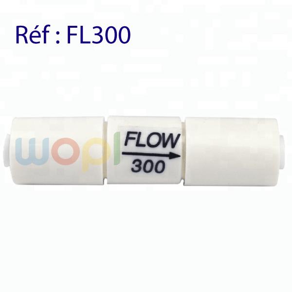 Régulateur de débit pour osmoseur flow 300