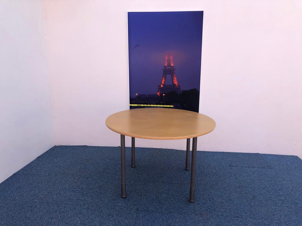 Table ronde 4 pieds Kinnarps Origo 110cm
