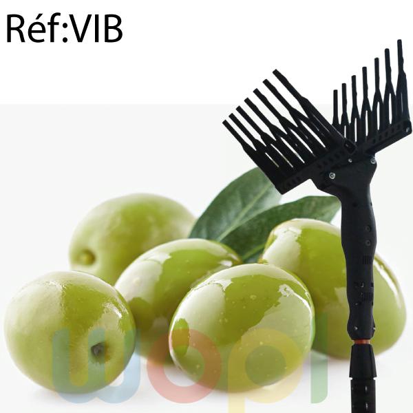 Utilise le principe vibratoire pour récolte olives