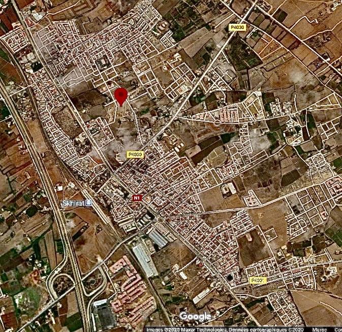 Terrain 260m2, R+4 commerce, Skhirate, Maroc