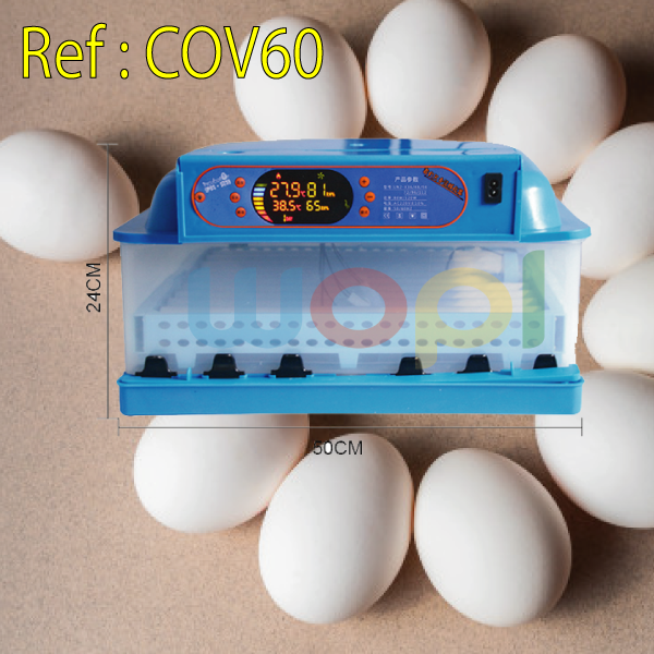 Acheter votre couveuse 60 œuf CHEZ WOPL