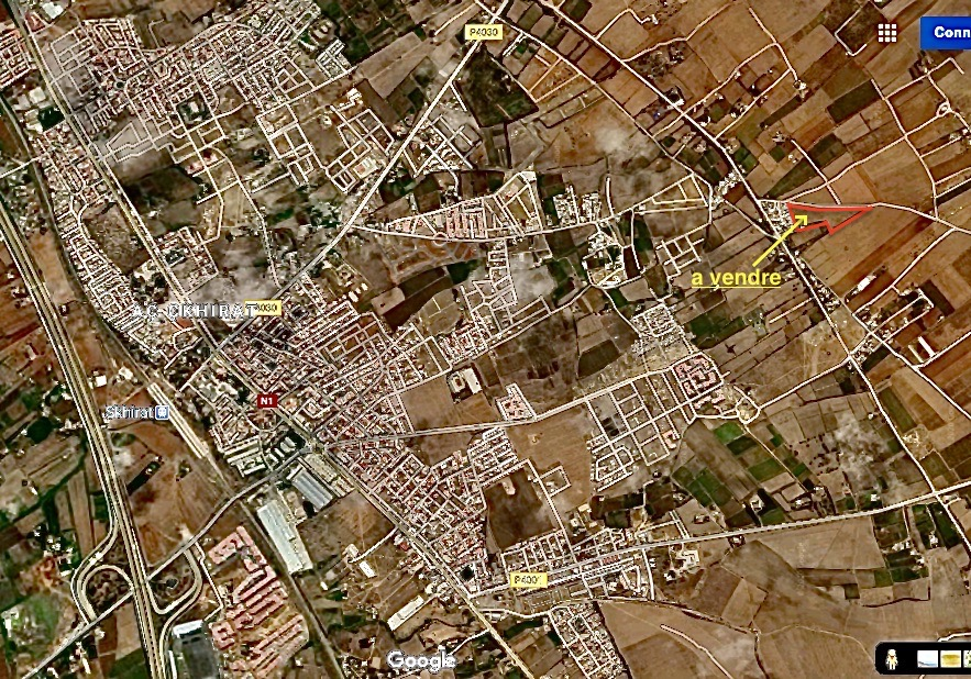 Terrain 15000m², en face de Skhirat centre, maroc