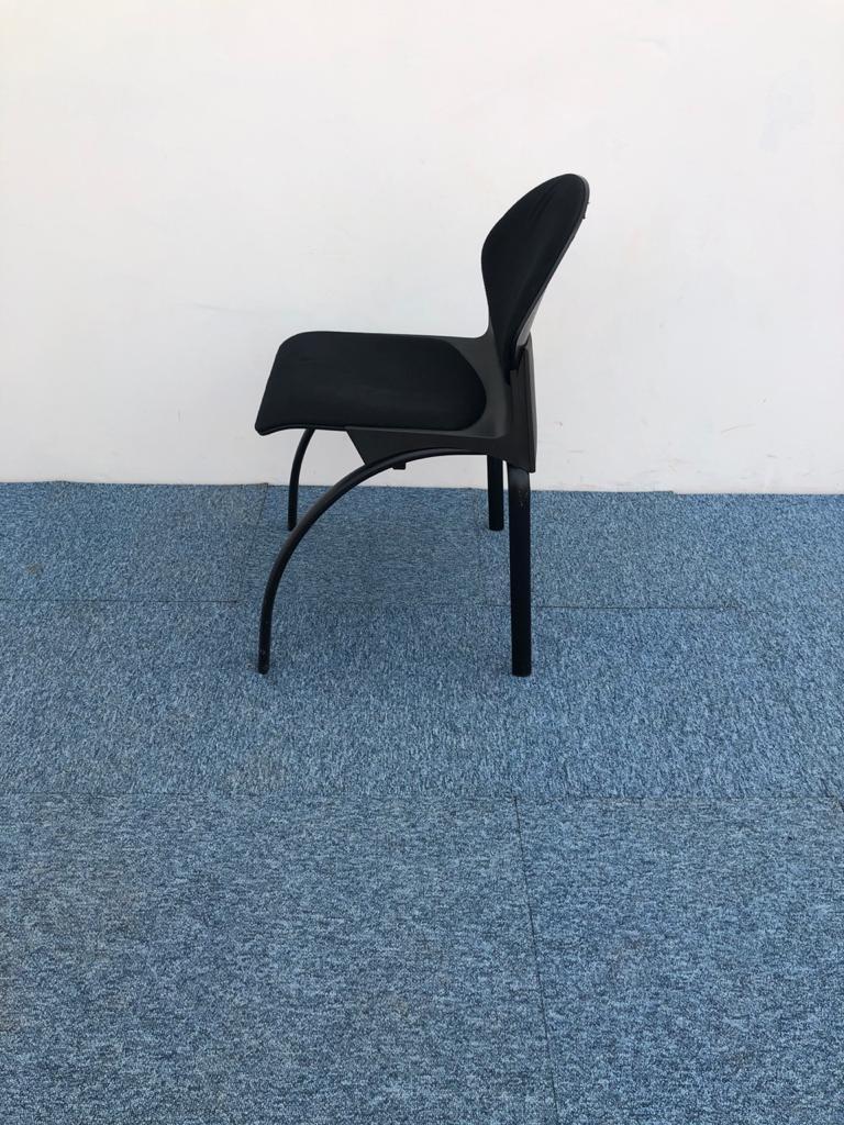 Chaise visiteur Steelcase Strafor Gerd Lange design