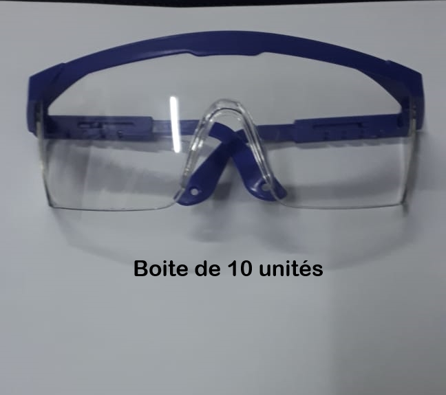 Boite de 10 Lunettes de Protection