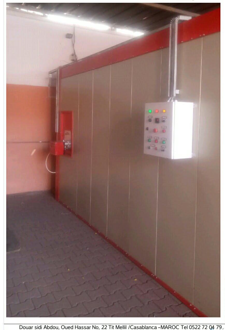 FOUR ELECTROSTATIQUE /PEINTURE INDUSTRIELLE-EPOXY