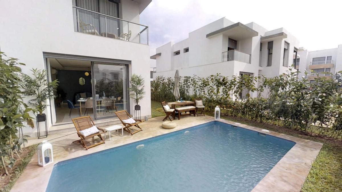 Pavillons de villas de 200M² à 250m² à DARBOUAZZA