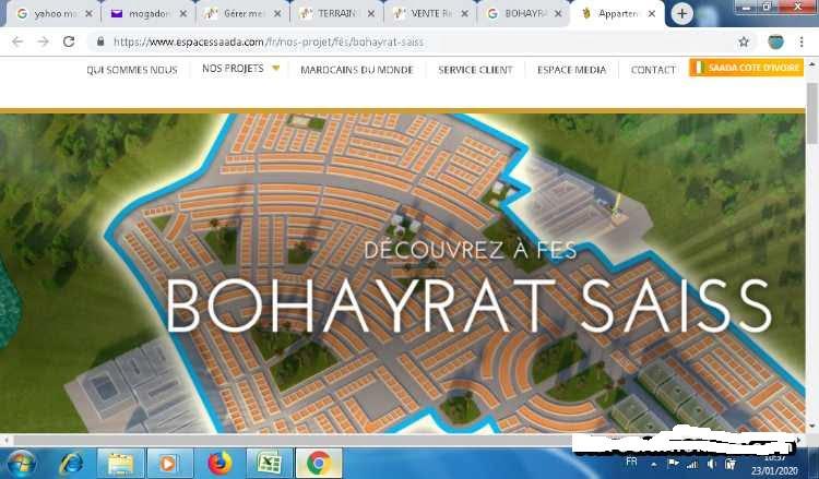 LOT POUR STATION DE SERVICE 7644M² BOUHAYRATE FÉS
