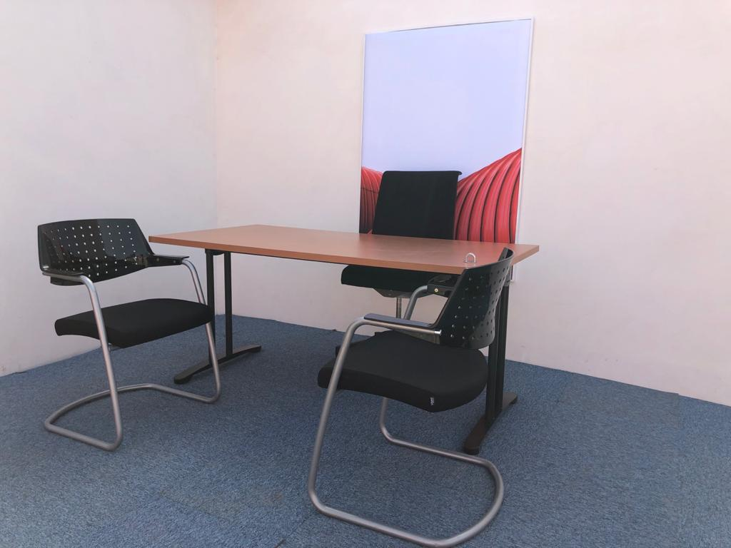 Bureau droit HAWORTH 160x80cm