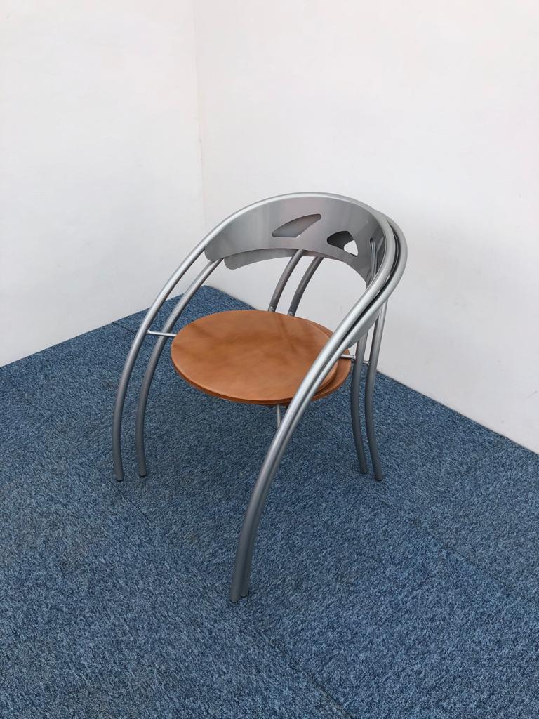 Chaise visiteur accueil métallique