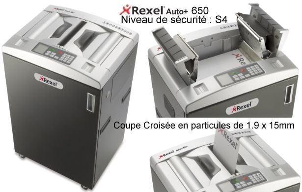 Destructeur Acco Rexel Auto+ 650