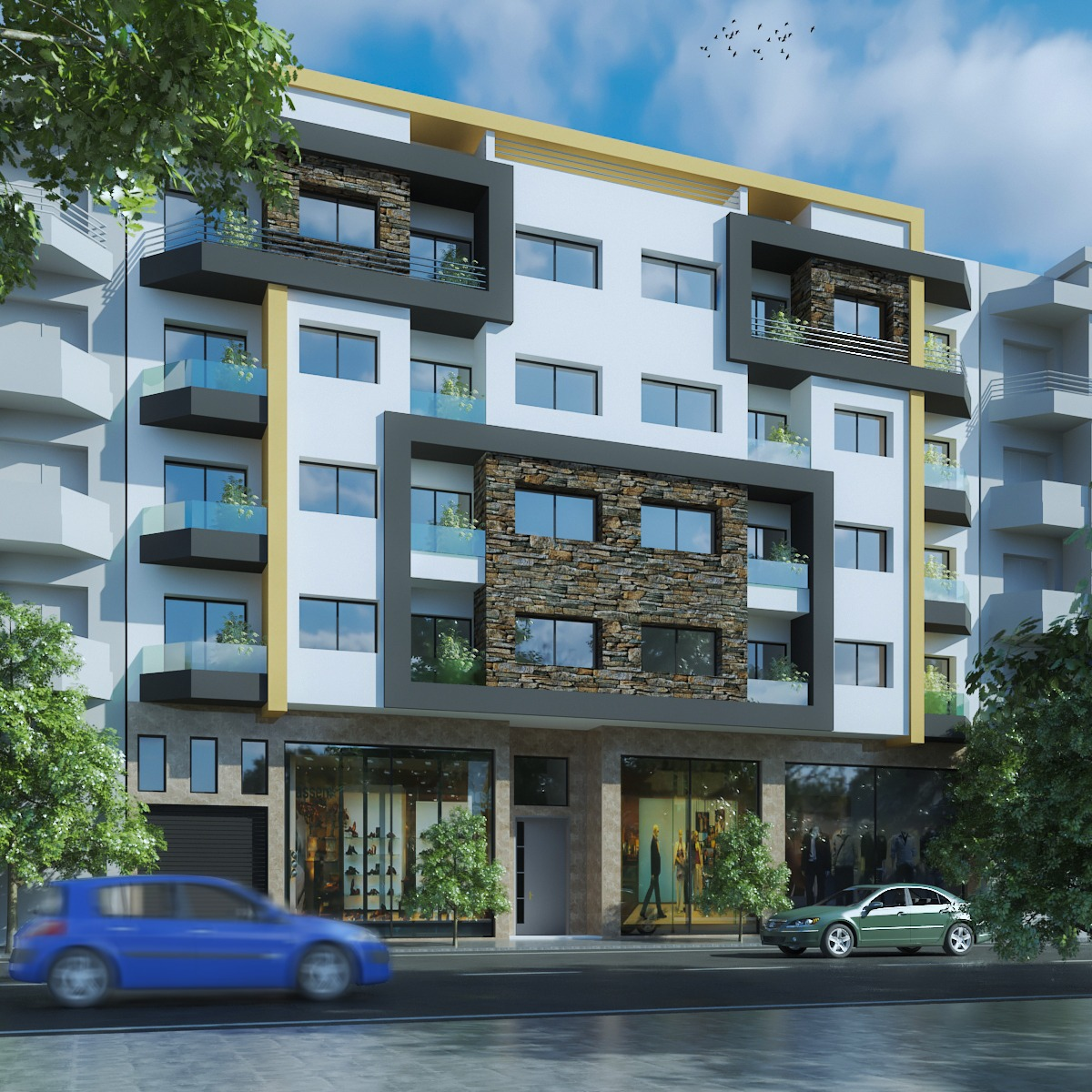Appartements à vendre à Victoria Bouskoura