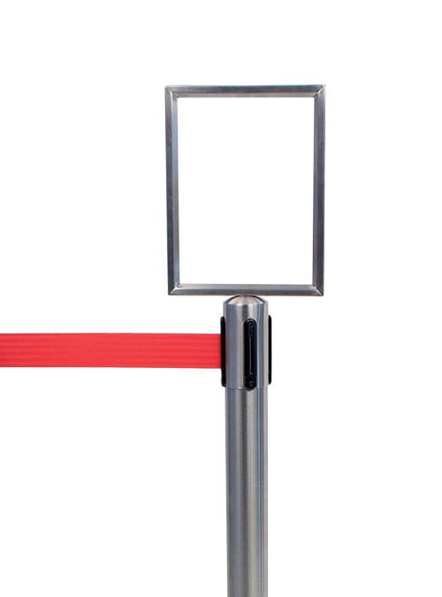 Poteau de guidage avec affichage