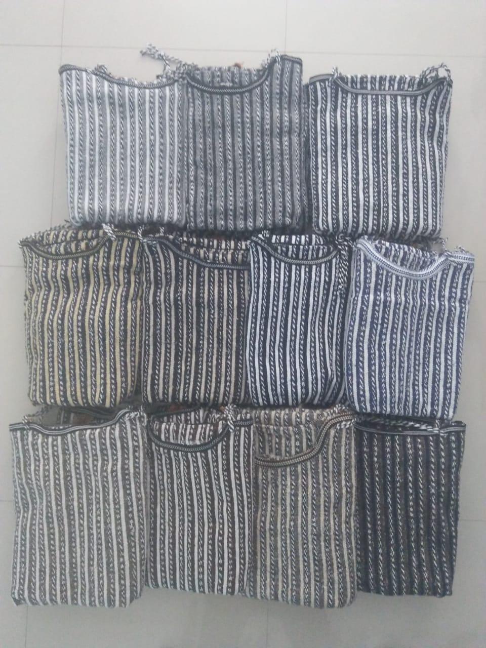 Handira OU KACHABA berbere en laine & Cotton جلابة قشابة